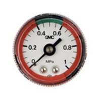 Manometer, Grenzwertanzeige / Ausführung mit Farbzonen G